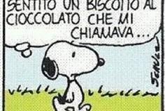 Snoopy cioccolato