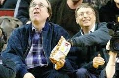Bill Gates ruba le patatine