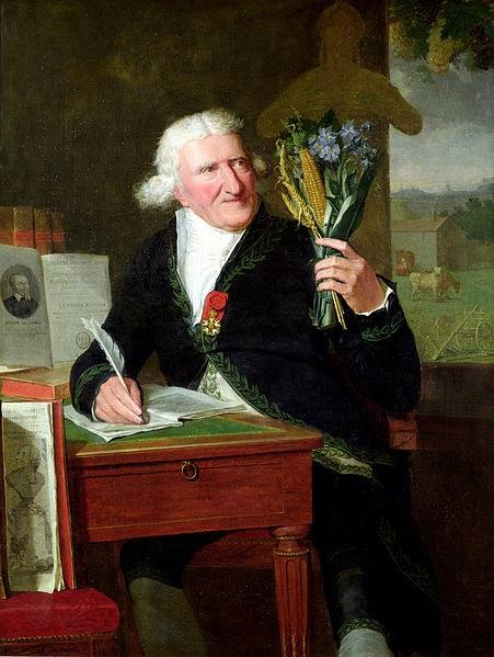Ritratto di Antoine Parmentier ad opera di François Dumont