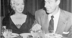 DiMaggio e Norma Jean a tavola.