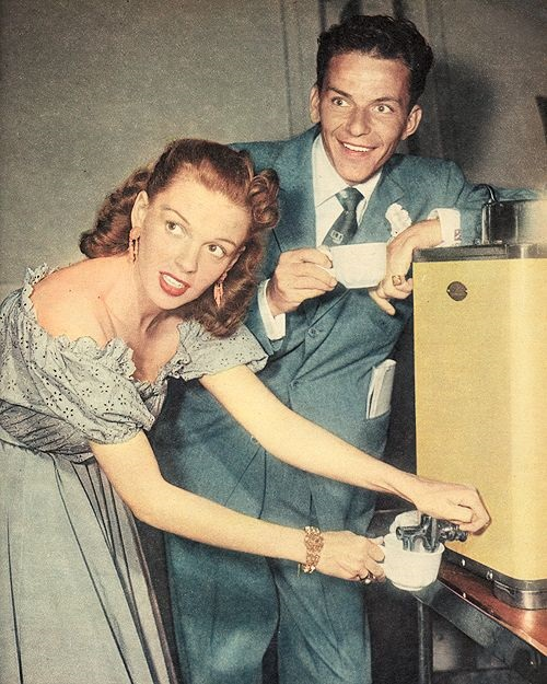 Frank Sinatra e Judy Garland