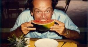 Jack NIcholson colazione